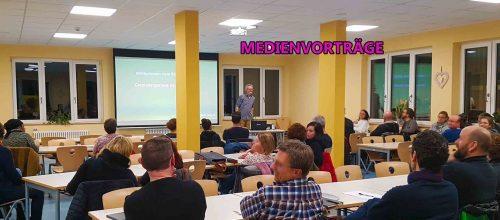 Medienvorträge und Medienfortbildungen